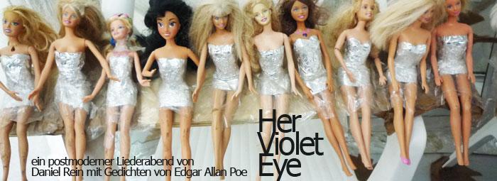 Her Violet Eye